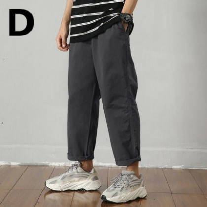 Men Clothing Loose Sports Summer Casual Pants