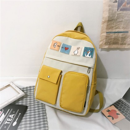 Women College Cute Elegant Large Capacity Backpack