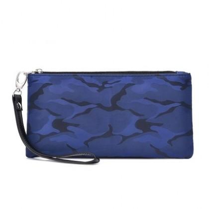 Men Nylon Casual Camouflage Canvas Clutch Bag