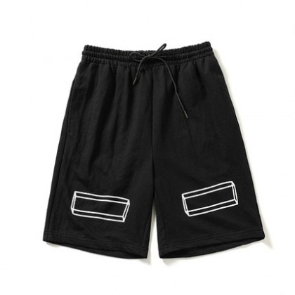 Men Clothing Five Point Casual Sports Shorts