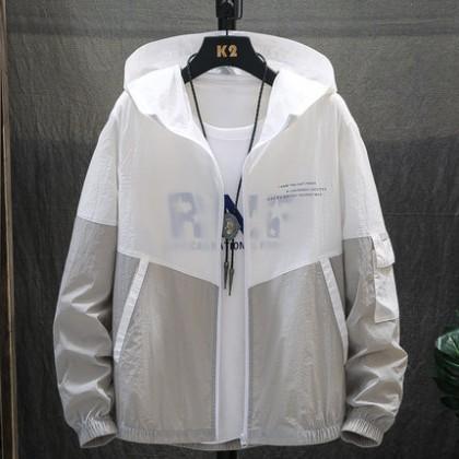 Men Clothing Loose Sun Protection Jacket