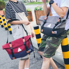 Couple's Men's Women's Canvas Shoulder Travel Bag