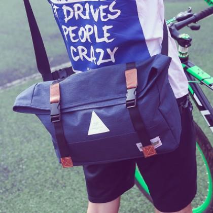 Couple's Men's Women's Canvas Shoulder Travel Bag