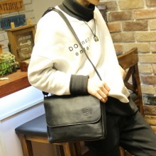 Men's Casual Retro Leather Meseenger Bag