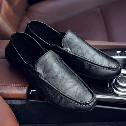 Male Men's England Casual PU Shoes