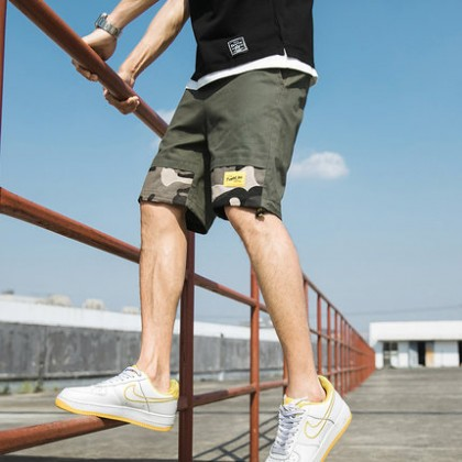 Men Clothing Loose Five Points Casual Pants