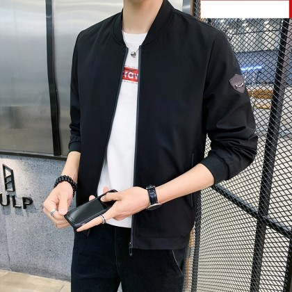 Men Clothing Casual Outdoor Trend Loose Jacket