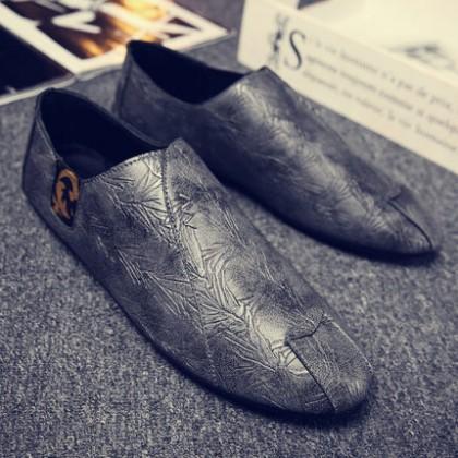 Men Korean Casual Social  Peas Shoes