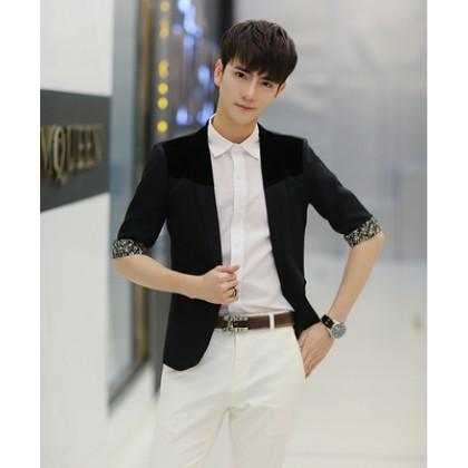Men Casual Suit Blazer Coat