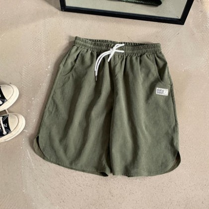 Men Clothing Loose Summer Five-point Sports Beach Pants
