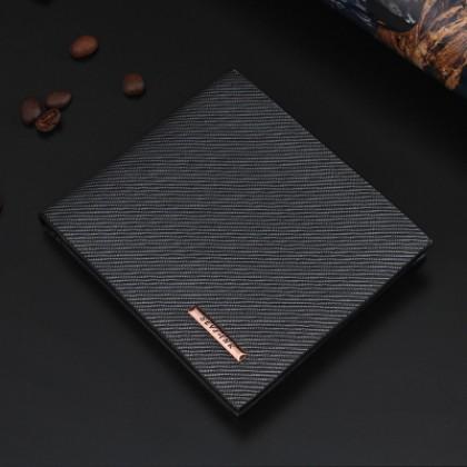 Men Fashionable Modern Short Wallet