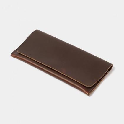 Men Long Wallet Casual Leather Clutch Bag