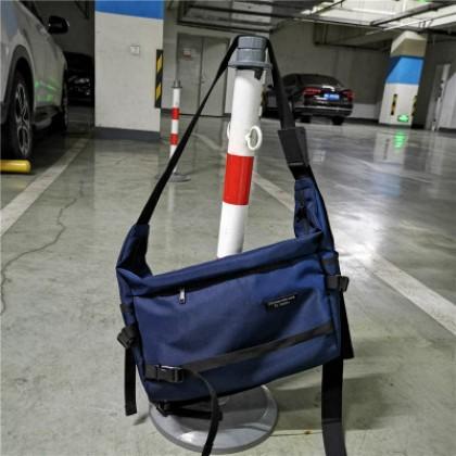 Men Large Capacity Waterproof Nylon Cloth Shoulder Bag