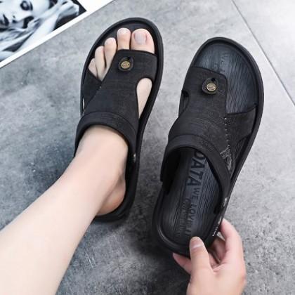 Men Casual Outdoor Wear Flat Bottom Non-slip Sandals