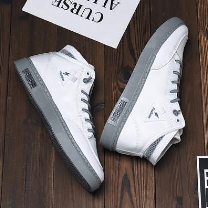 Men High-top Canvas Korean Version Student Shoes