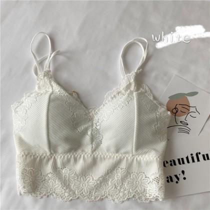 Women Explosion Laced Underwear Strapped Bra