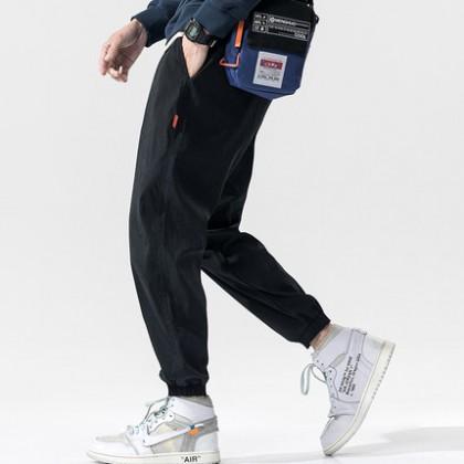 Men Clothing Casual Long Sports Pants