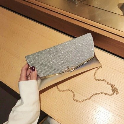 Women High-quality Western Fashion Texture Messenger Clutch bag