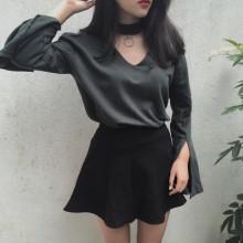 Women Retro Casual Long Sleeve T-Shirt