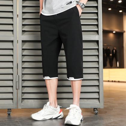 Men Clothing New Shorts Casual Middle Pants