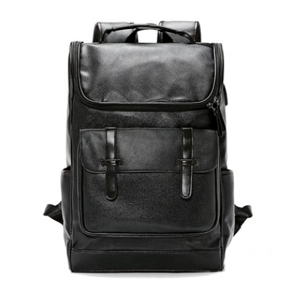 Men Simple and Fashionable Korean Style Backpack Street Fashion