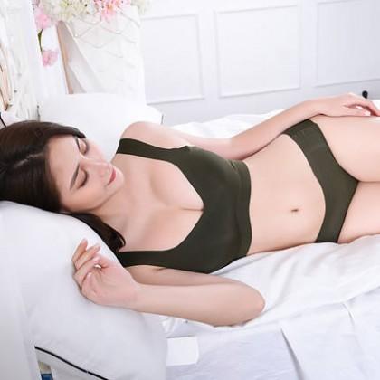 Women Clothing Ice Silk Seamless No Steel Ring Student Vest Bra