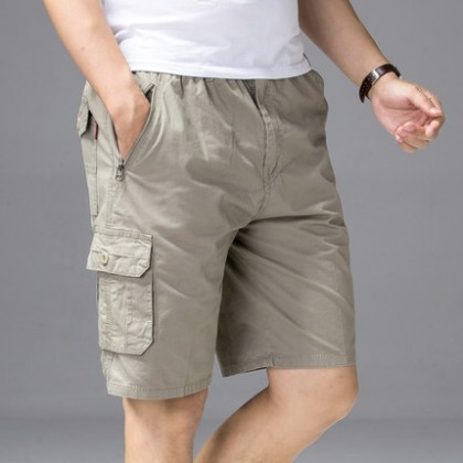 Men Clothing Summer Loose Casual Large Pants