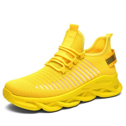 Men Sports Breathable Blade Mesh Shoes