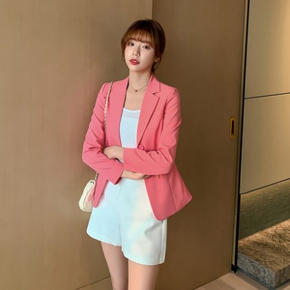 Women Clothing New Fashion Large Size Suit Jacket