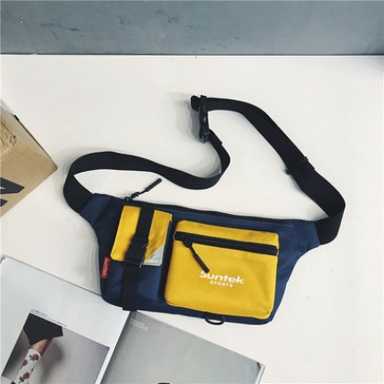 Men Small Waist Bag Sports Shoulder Bag