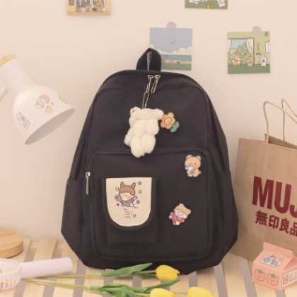 Women Korean Version Cute Student Backpack