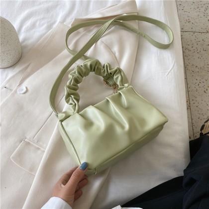 Women Portable Fold Shoulder Messenger Bag