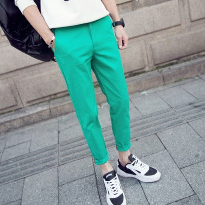 Men Japanese Casual Harem Long Pants