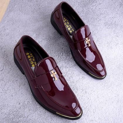 Men Casual Korean Fashion Nightclub Shoes