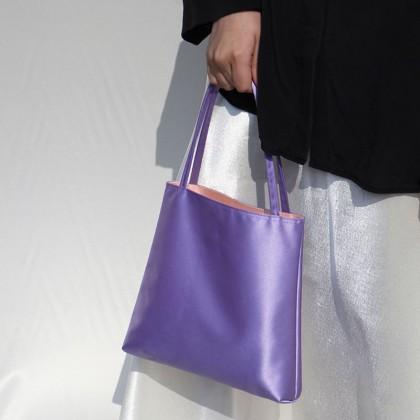 Women Retro Satin All-match Casual Handbag
