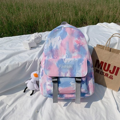 Women Backpack Graffiti Korean Style School Bag