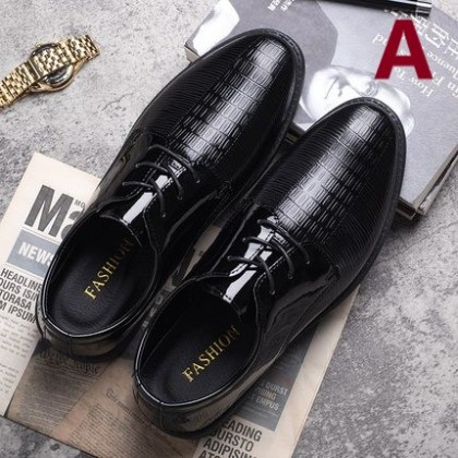 Men British Business Soft Sole Casual Leather Shoes