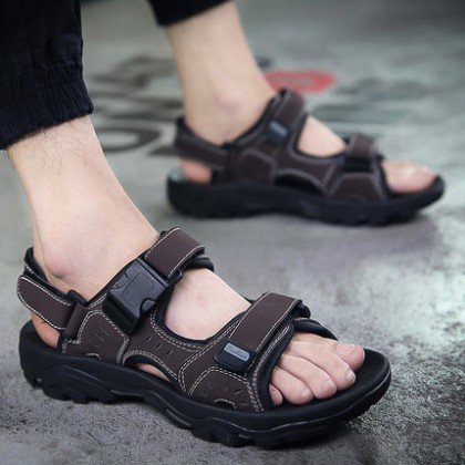 [READY STOCK / PRE-ORDER] Men Summer Rome Sport Sandals