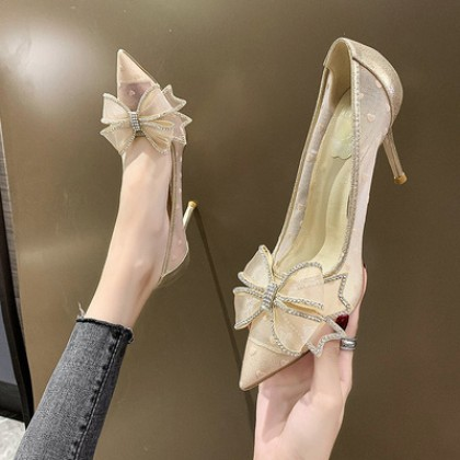 Women New Fairy Style All-match Stiletto High Heels