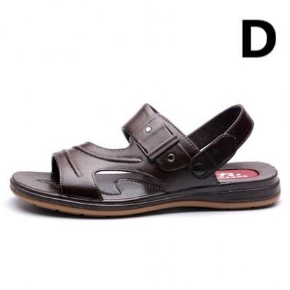 Men Non-slip Soft-soled Beach Slippers