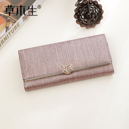 Women Soft Leather Long Large-capacity Wallet