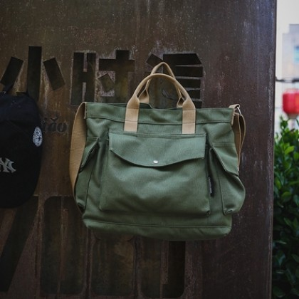 Men Fashion Retro Large-capacity Lazy Canvas Bag