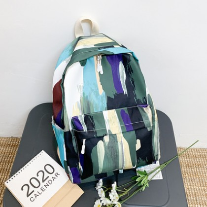 Women New Dirt-resistant High School Student Backpack