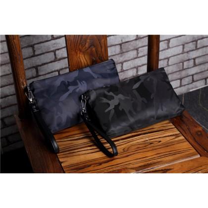 Men Fashion Camouflage Waterproof Clutch Bag