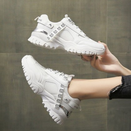 Women Winter Casual All-match Sports Lace-up Shoes
