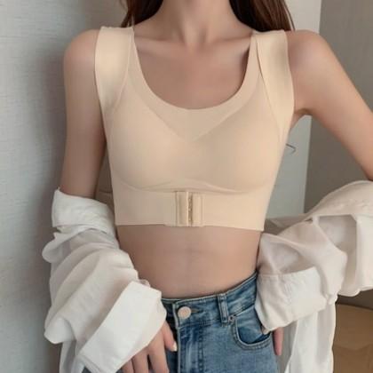 Women Clothing Beautiful Back Sports Shaping Tube Top Seamless Underwear
