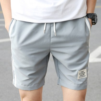 [READY STOCK] Men Casual Elastic Short Pants