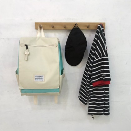 Women Computer Large-capacity Square Backpack