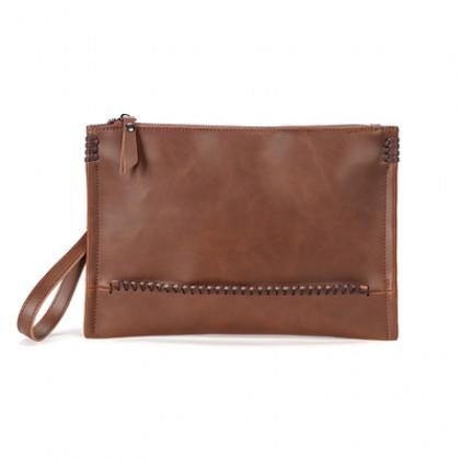 Men Fashion Retro Simple Wrist Casual Bag