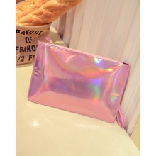 [PRE-ORDER] Women Shinning Zipped Envelope Dinner Purse